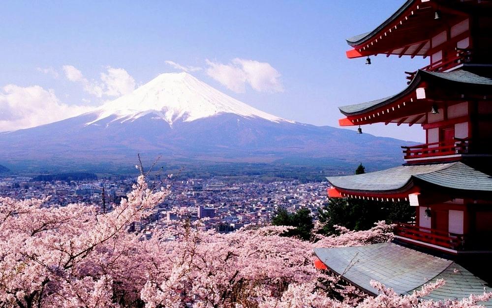 Япония, гора «Фудзияма»